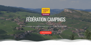 fédarations, campings, site